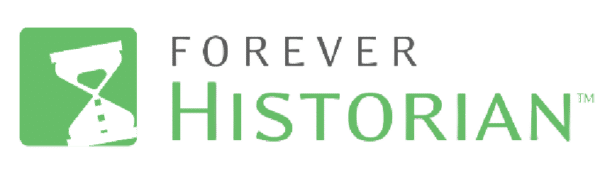 Forever Historian Logo; FOREVER products, Historian Photo Management software