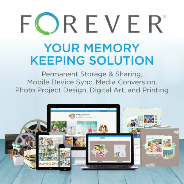 Forever Memory Keeping Solution Affiliate Ad; FOREVER Products